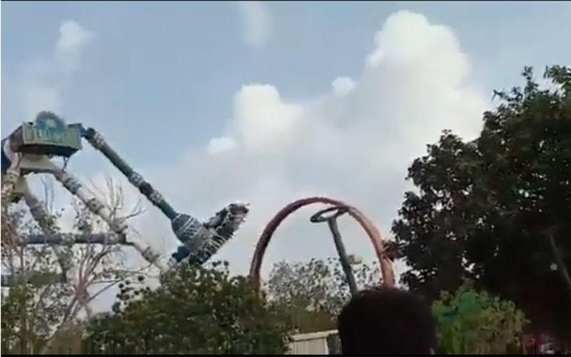 Imagem ilustrativa da notícia: Vídeo: Brinquedo se parte e mata duas pessoas em parque de diversões. Assista!