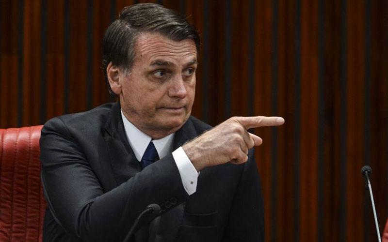 Imagem ilustrativa da notícia: Bolsonaro diz que parte da 'grande imprensa' é inimiga