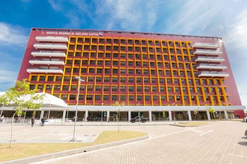 Imagem ilustrativa da notícia: Nasce o primeiro bebê do novo Hospital Abelardo Santos