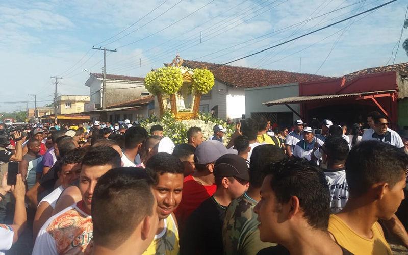 Na procissão, os fiéis percorrerão várias ruas do município de Vigia em direção à Igreja Matriz.