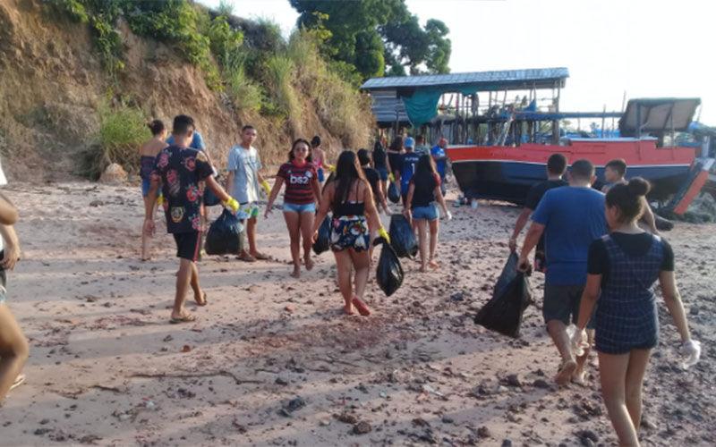 Imagem ilustrativa da notícia: Jovens criam grupo no WhatsApp para organizar mutirão de limpeza em cidade paraense