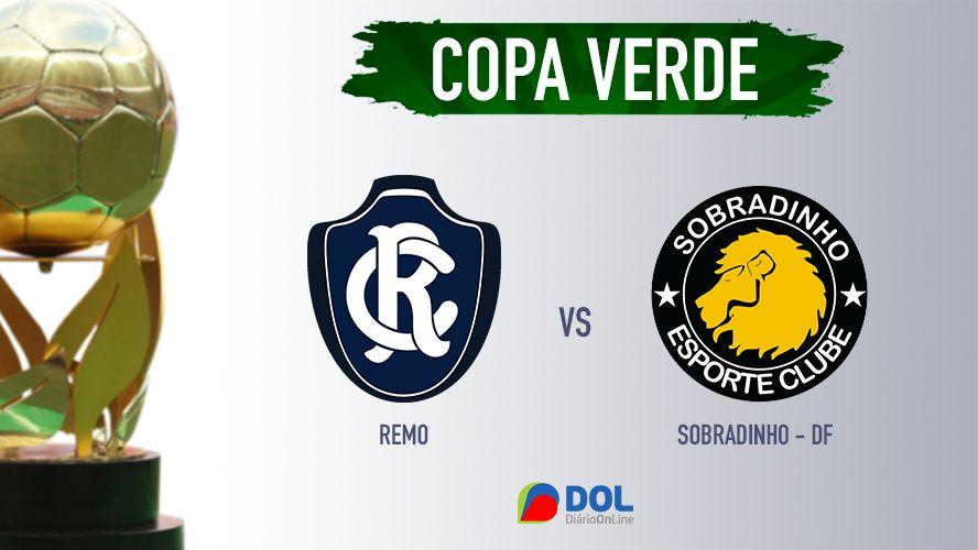 Imagem ilustrativa da notícia: Remo vence o Sobradinho-DF e confirma classificação na Copa Verde