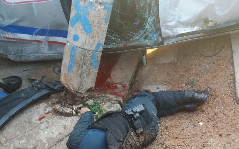 Imagem ilustrativa da notícia: Morte de PM é confirmada após o acidente na Arthur Bernardes. Veja o vídeo!