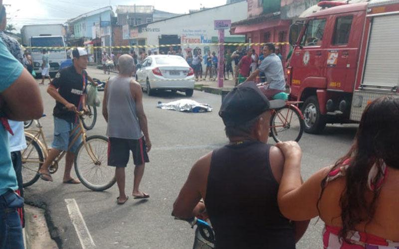 Imagem ilustrativa da notícia: Motociclista morre após colisão com carro em Belém