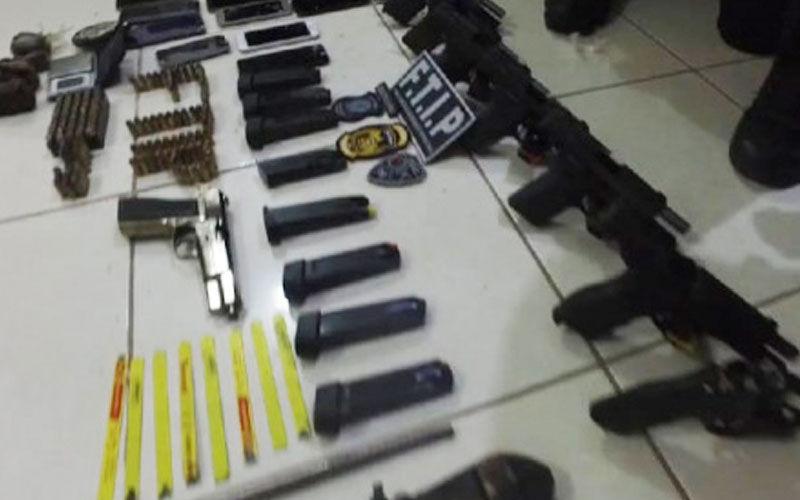 Imagem ilustrativa da notícia: 12 armas são apreendidas em esgoto de penitenciária no Pará