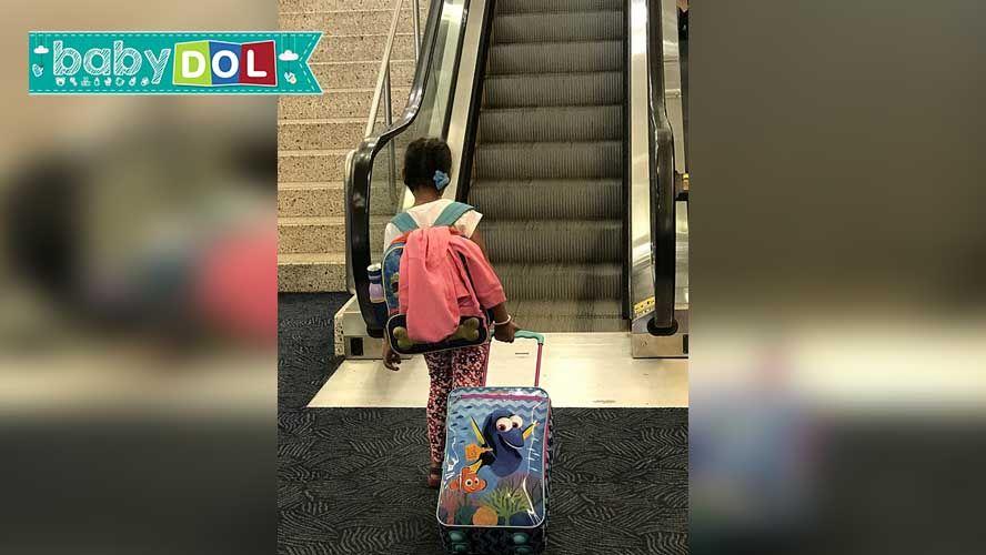 Ação em shoppings alerta sobre uso da escada rolante, especialmente de crianças, público-alvo da campanha.