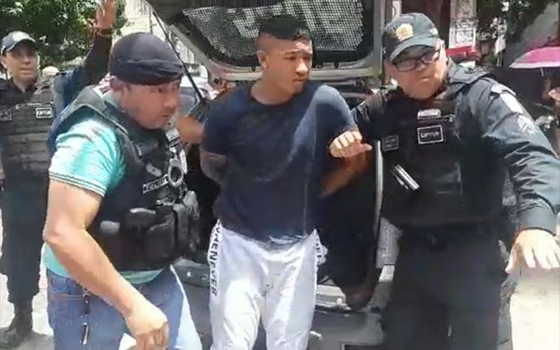 Imagem ilustrativa da notícia: Acusado de matar e desovar adolescente no Mangueirão é preso e conta motivo do crime. Veja o vídeo