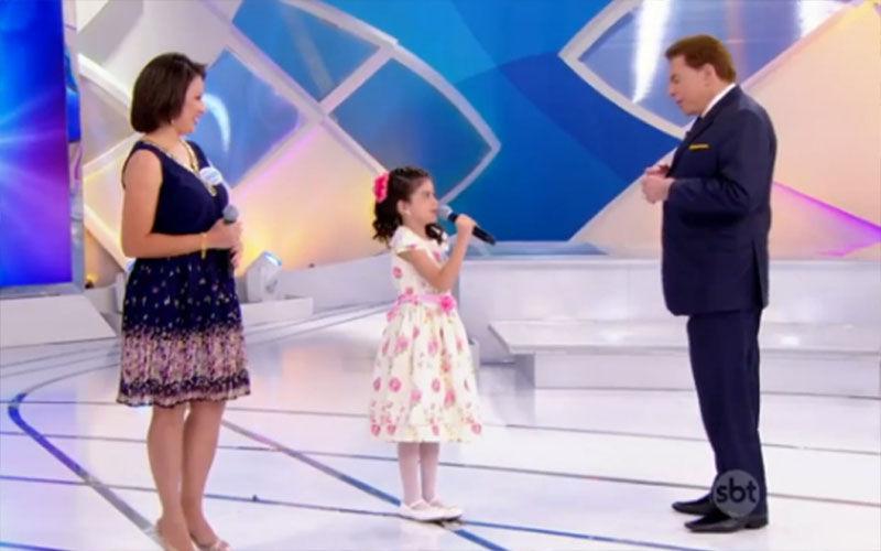 """Imagem ilustrativa da notícia: """"Sexo, dinheiro ou poder?"""", pergunta Silvio Santos para criança de oito anos"""