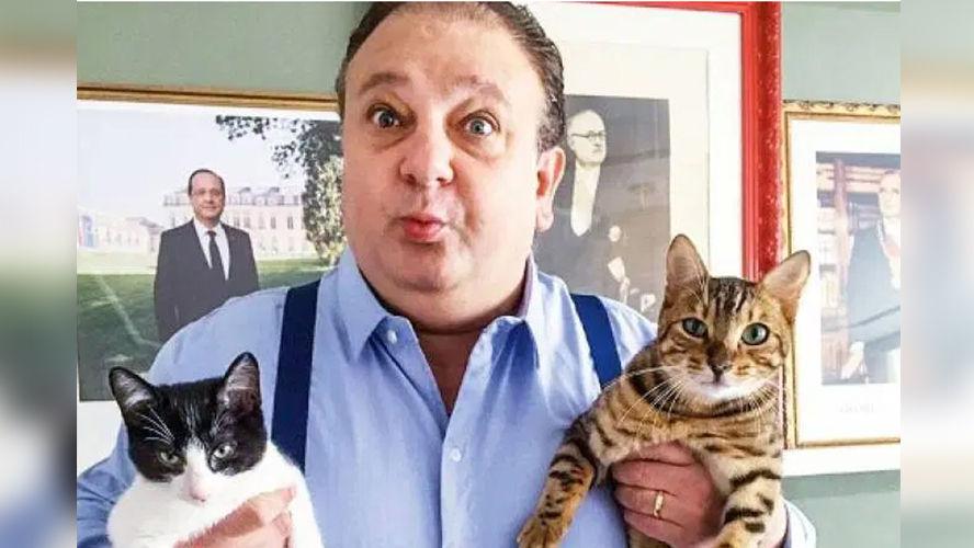 Imagem ilustrativa da notícia: Chef Jacquin adota gato e o batiza de 'Tompero'