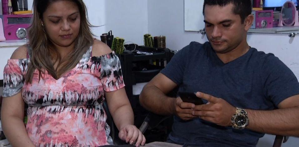 Imagem ilustrativa da notícia: Entrevista: casal preso na estação do BRT fala sobre o desespero