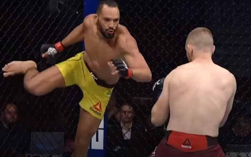Demolidor tem uma vitória e uma derrota no UFC