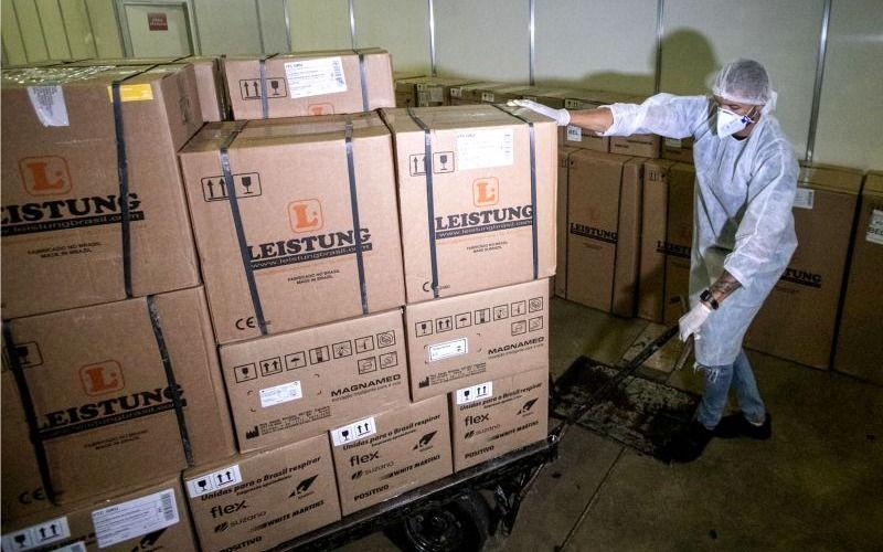 Imagem ilustrativa da notícia: Pará conta com mais 50 novos respiradores para tratamento de pacientes com coronavírus