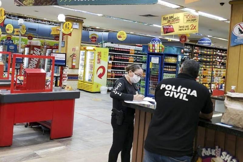 Imagem ilustrativa da notícia: Supermercado de Belém é advertido por permitir pessoas sem máscaras