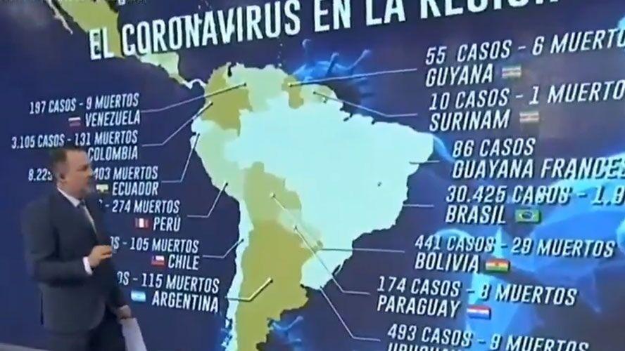 Essa não é a primeira vez que o âncora da TV Argentina ataca Bolsonaro.
