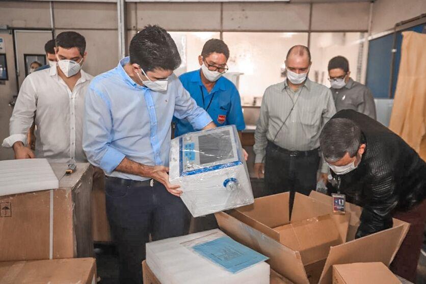 Imagem ilustrativa da notícia: Pará recebe primeiros 139 respiradores que irão reforçar leitos de UTIs