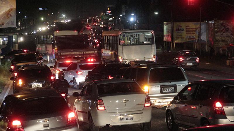 Imagem ilustrativa da notícia: Trânsito na saída de Belém é intenso na última sexta de julho