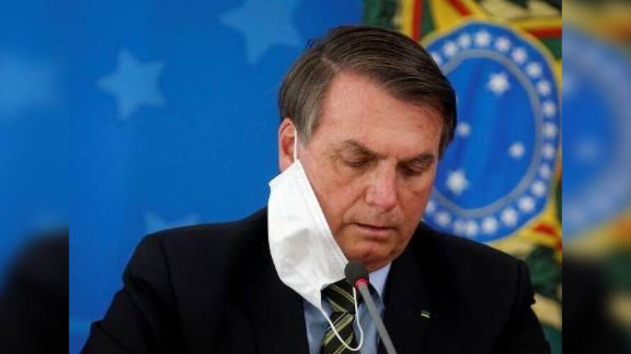 Bolsonaro está com infecção pulmonar.