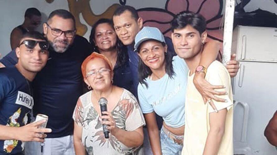 Imagem ilustrativa da notícia: Cleide Moraes se apresentou em aniversário horas antes da tragédia