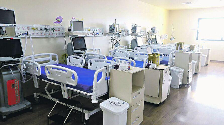 O Hospital Abelardo Santos foi um dos que ofereceu leitos exclusivos para pacientes de Covid-19