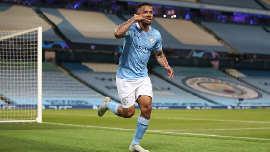 Gabriel Jesus decidiu para o Manchester City.