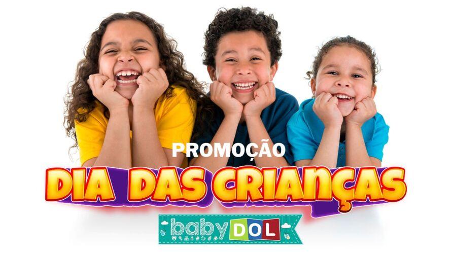 Dia das Crianças: BABY DOL vai presentear vários internautas mirins.