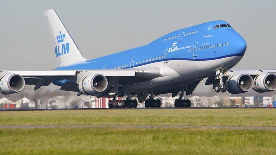 Boeing 747 da holandesa KLM