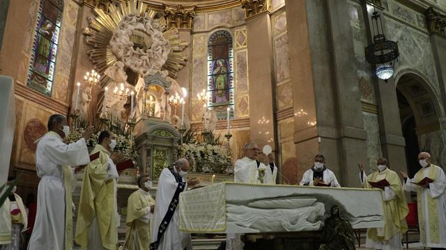 A programação oficial do Círio de Nazaré foi encerrada com uma missa na Basílica Santuário.