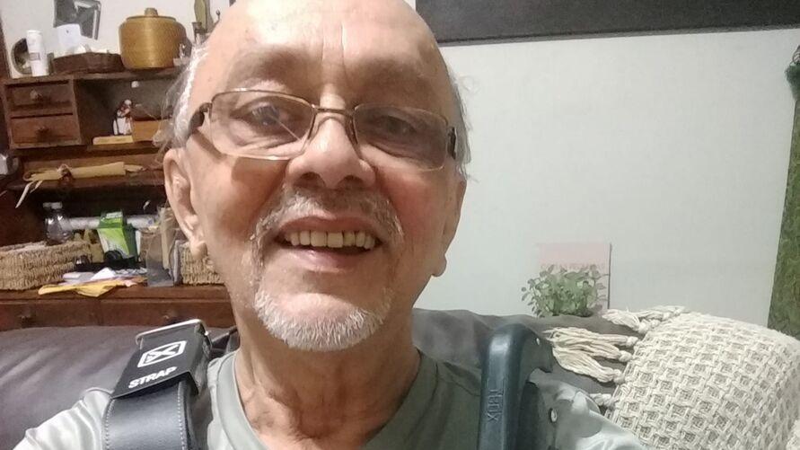 Imagem ilustrativa da notícia: Nilson Chaves continua internado em hospital de campanha do Hangar
