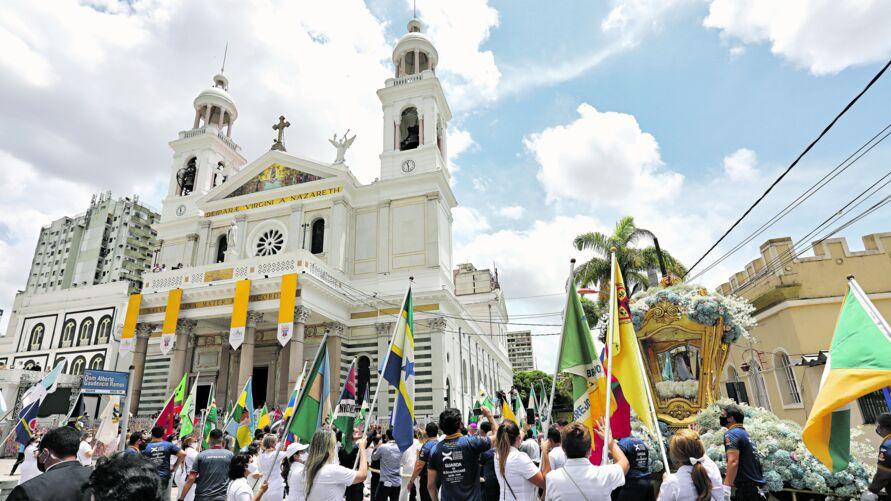 A Imagem Original de Nossa Senhora vai retornar ao Glória na próxima segunda-feira, no Altar-Mor