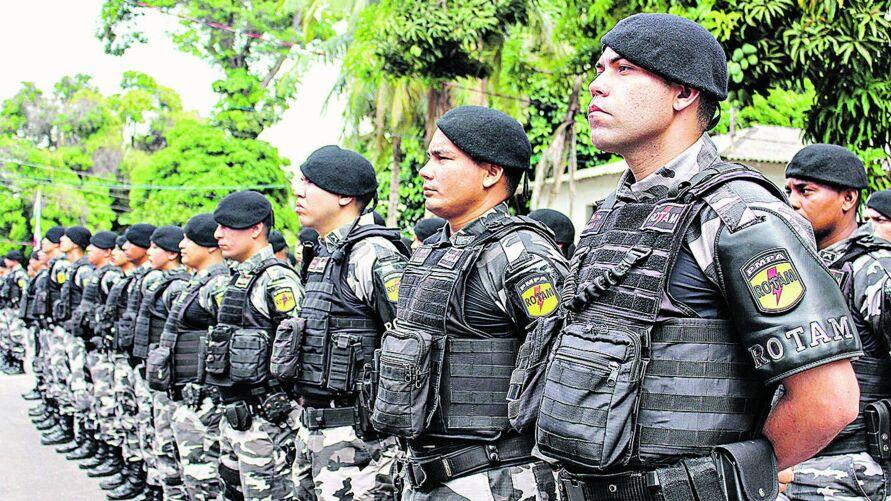 Os estudantes terão aulas presenciais ou retomas. A Polícia Militar oferta o maior número de vagas