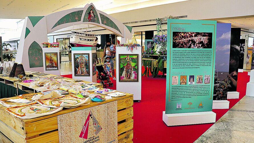 Feira oferece oportunidades para 120 empreendedores e artesãos oferecerem seus produtos