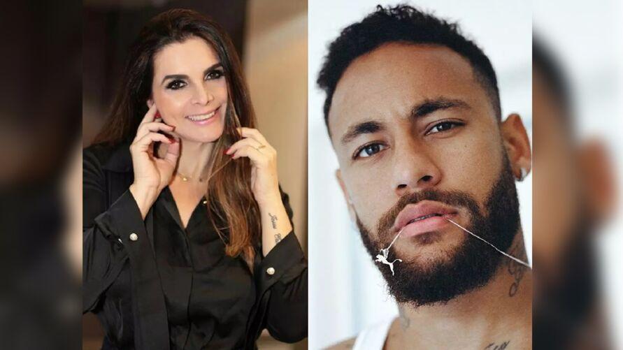 """Imagem ilustrativa da notícia: Luiza Ambiel revela fora em Neymar e explica: """"Não aguenta, não"""""""