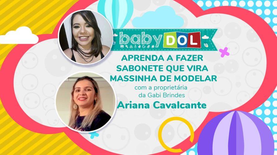 Dia das Crianças: Ariana Cavalcante, proprietária da Gabi Brindes, ensina o passo a passo para fazer uma sabonete que vira massinha de modelar.