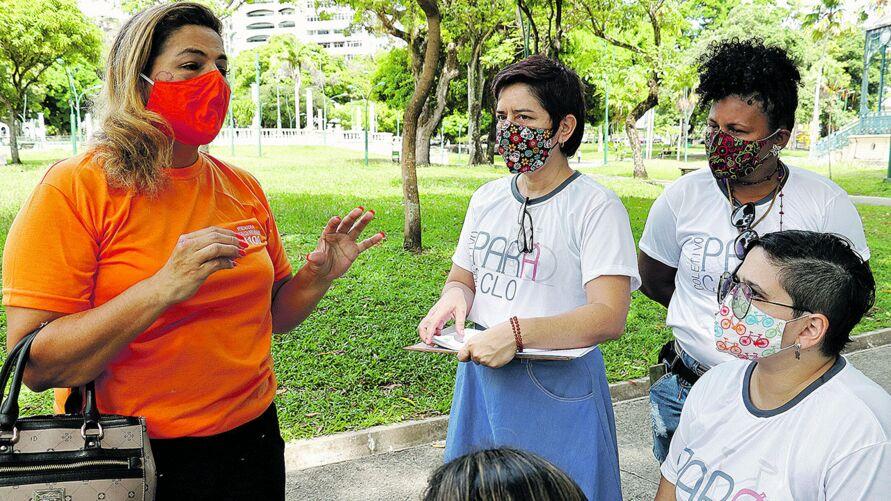 Ciclistas mobilizam candidatos para garantir direitos em Belém