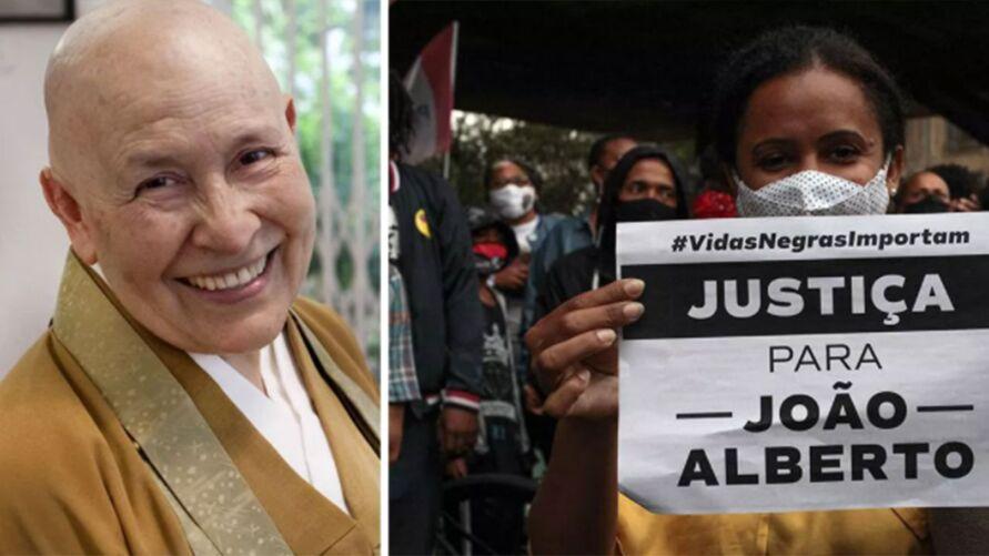 """Imagem ilustrativa da notícia: Monja Coen se revolta contra assassinato no Carrefour e pede povo nas ruas: """"Vamos ficar quietos?"""""""