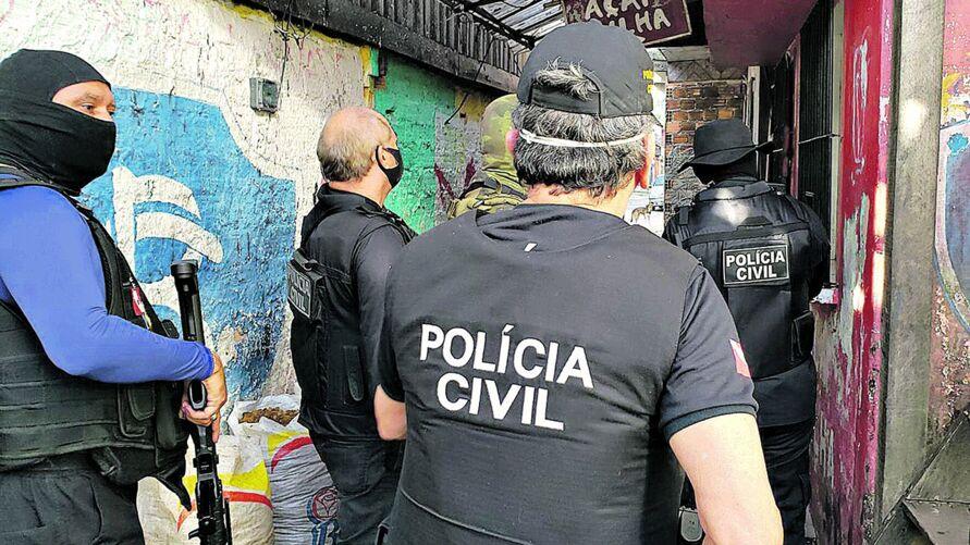 Das 1.088 vagas previstas para a Polícia Civil, 265 serão destinadas ao cargo de delegado do órgão