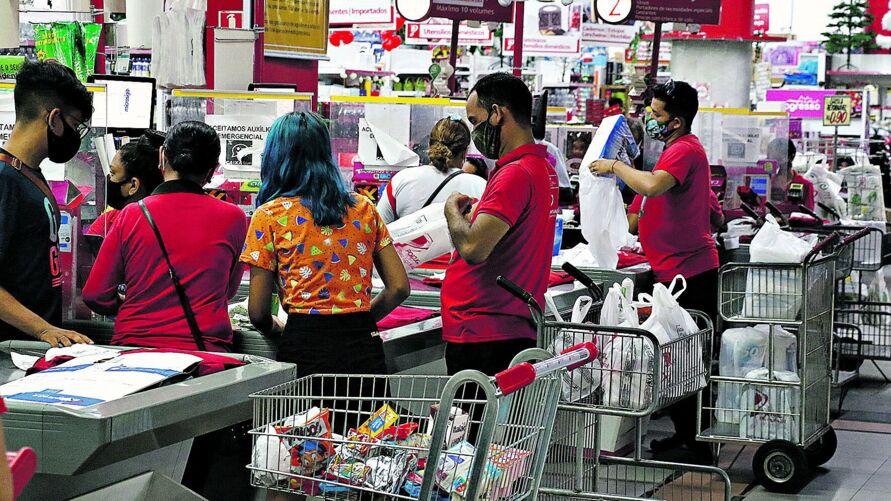 O Pará ocupa o 5º lugar entre os estados onde os supermercados mais contrataram este ano