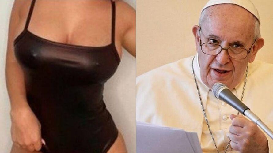 Imagem ilustrativa da notícia: Papa Francisco curte foto de modelo seminua pela segunda vez