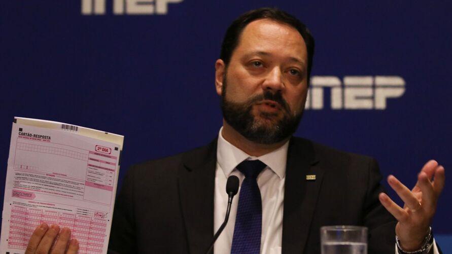 Presidente do Inep, Alexandre Lopes, falou também sobre a situação do Amazonas.