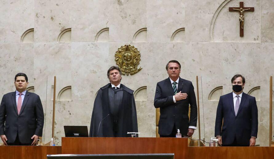 Desarmonia entre poderes é evidente no Brasil atual.