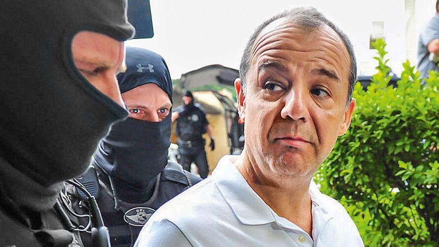 Cabral está preso desde novembro de 2016
