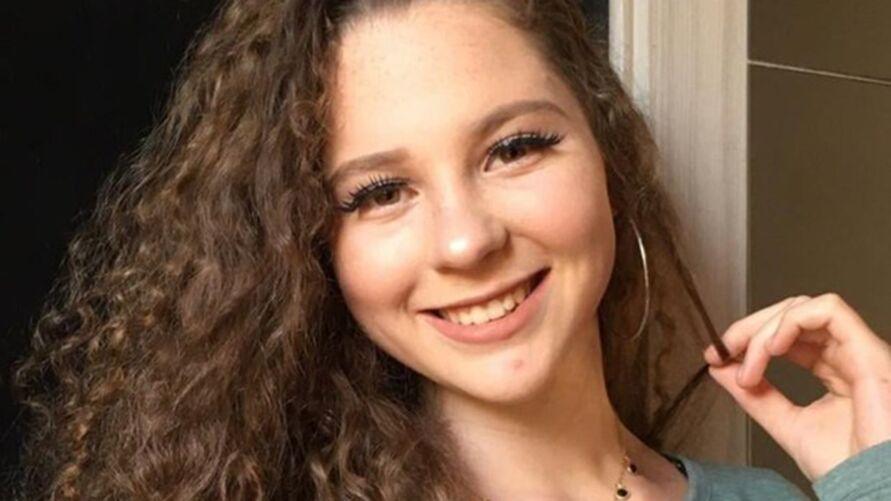 Ellen da Rocha Posselt, 17 anos, morreu de meningite