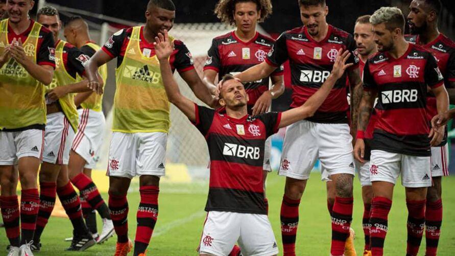 Imagem ilustrativa da notícia: Vídeo: Flamengo treina forte para jogos longe de casa