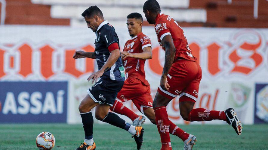 Imagem ilustrativa da notícia: Agora vale taça! Remo X Vila Nova-GO empataram sem gols na 1ª fase da Terceirona