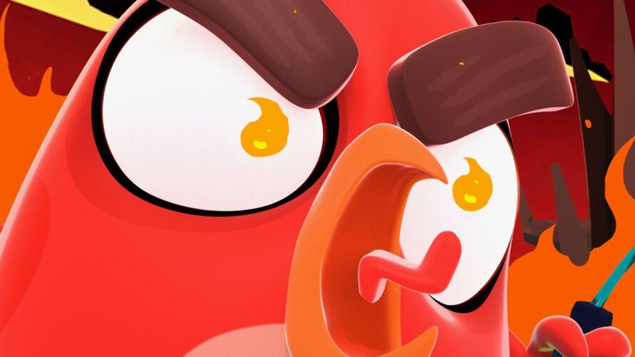 Angry Birds Bubble Trouble divulgação