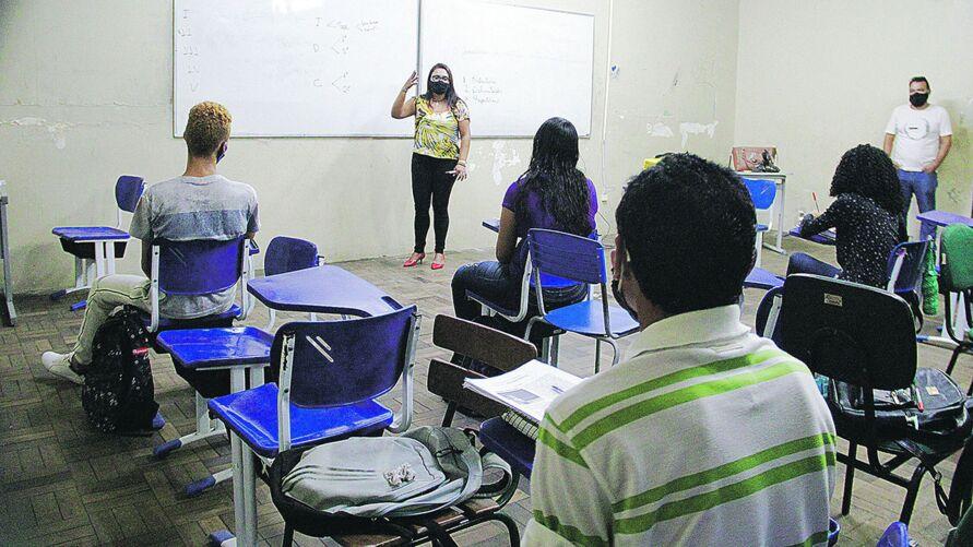 """Os """"aulões"""", organizados pela Escola de Governança Pública do Estado do Pará (EGPA), foram aprovados pelos estudantes."""