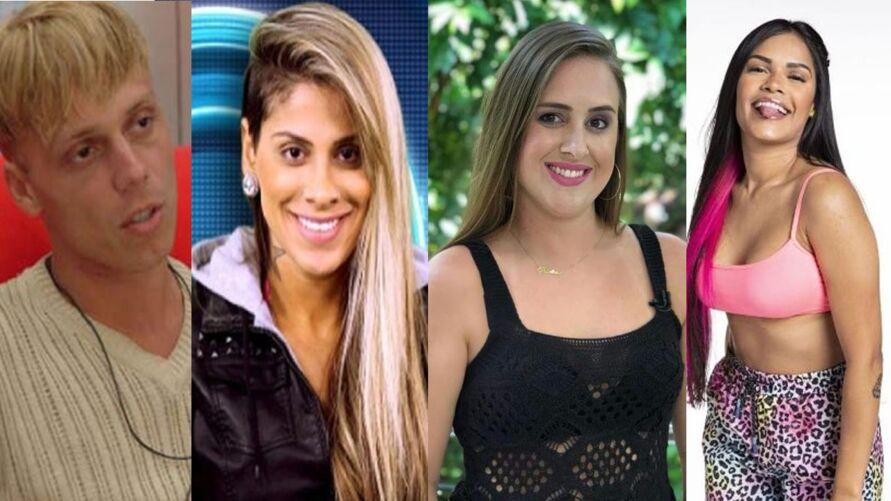 Participantes passaram por grandes transformações após saírem do Big Brother Brasil.