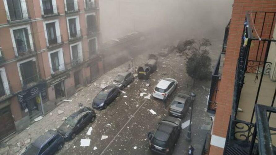 Segundo a imprensa local, a causa da explosão ainda é desconhecida.