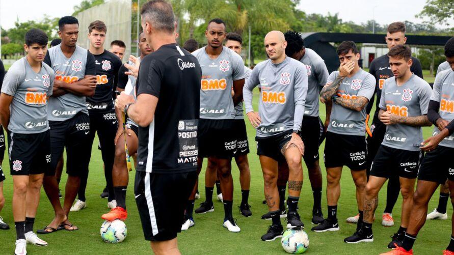 Imagem ilustrativa da notícia: Vídeo: Veja os bastidores da goleada do Corinthians na Série A