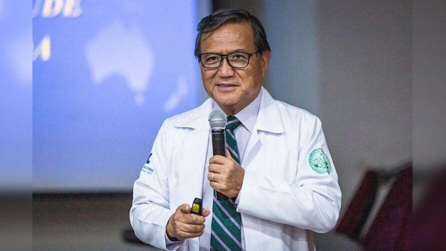 Wong estava internado desde dezembro no hospital Santa Maggiori. A causa da morte do médico teria sido parada cardiorrespiratória.